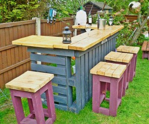 diy, bar, and garden image