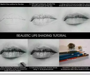 lips and draw image