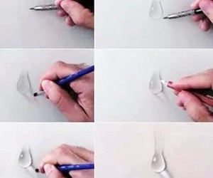 Water Drop and how to draw image