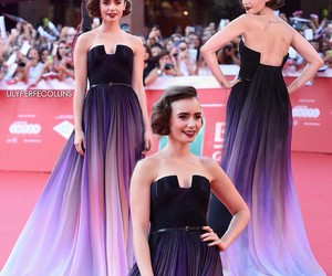 premiere, roma, and lily collins image