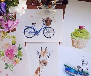 animals, art, and Cookies image