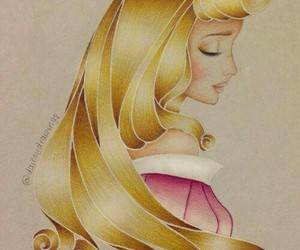 princess, aurora, and disney image
