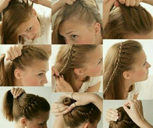 diy, cute, and hair image