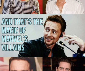 bucky, loki, and lee pace image