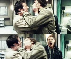 supernatural, castiel, and Jensen Ackles image
