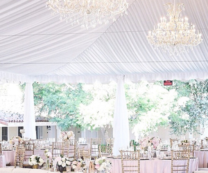 chandelier, decor, and decoration image