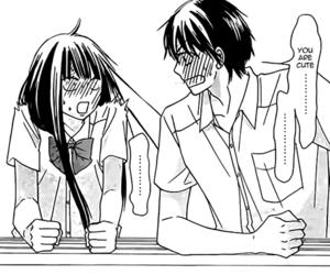 manga, kimi ni todoke, and couple image
