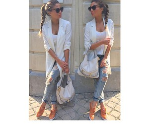 girl, outfit, and street image