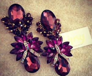 earrings, jewelry, and luxury image