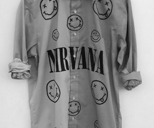 nirvana, shirt, and grunge image