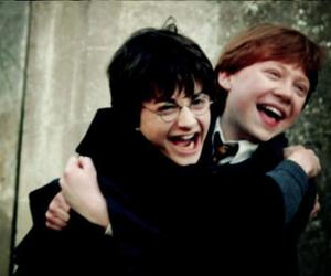 harry potter, ron weasley, and friends image