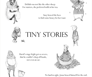 black and white, collection, and tiny stories image