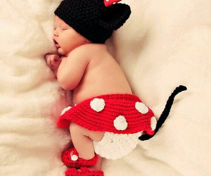 cute baby, new born, and cutie image