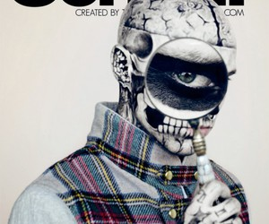 rick genest and zombie boy image