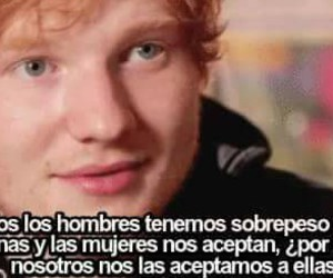 ed sheeran, frases, and ed image