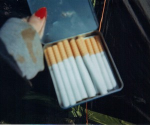 grunge, cigarette, and dark image