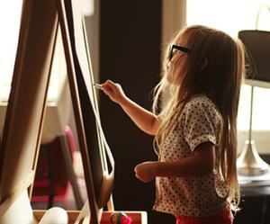 kids, art, and child image