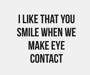 smile, love, and eye image