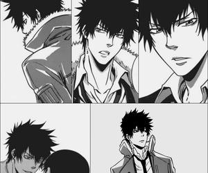 black and white, manga caps, and manga image