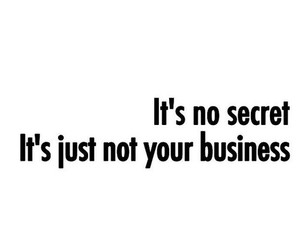 secret, business, and quotes image