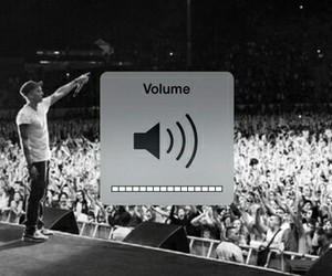 concert, music, and volume image