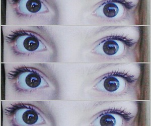 brown, yeux, and ojos image