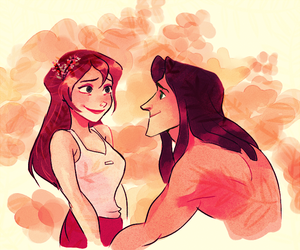 disney, tarzan, and jane image
