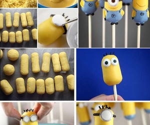 minions, diy, and cake image
