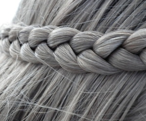 hair, braid, and awesome image