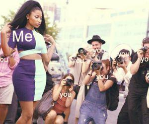 nicki minaj, me, and you image