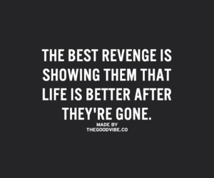 revenge, gone, and quotes image