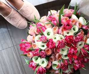 bouquet, chanel, and flowers image