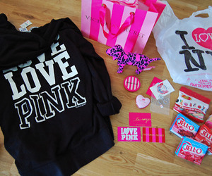 pink, Victoria's Secret, and ny image