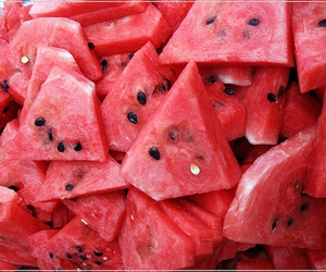 food, healthy, and melon image