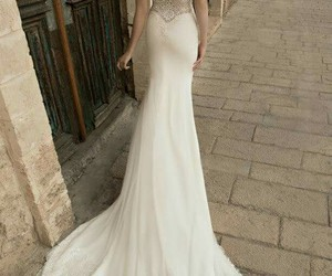 dress, vintage, and wedding dress image