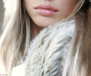 lips, girl, and fashion image