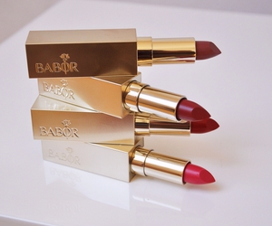 lipstick, red, and make up image