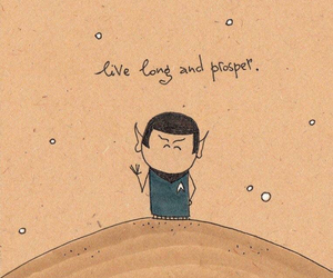 nimoy, rip, and spock image