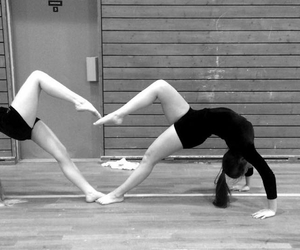 gymnastic, bestfriends, and love image