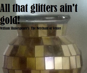 all that glitters and aint gold image