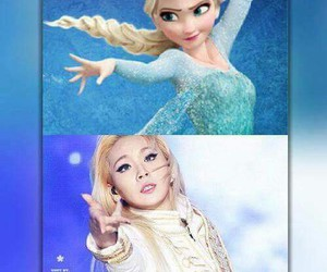 2ne1, CL, and frozen image