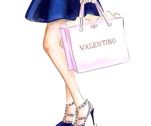 Valentino, fashion, and art image