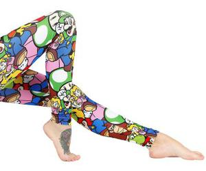 leggins and nintendo image