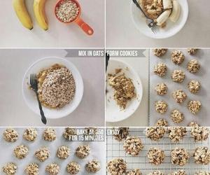 banana, food, and healthy image