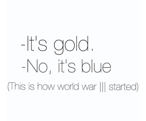 blue, funny, and gold image