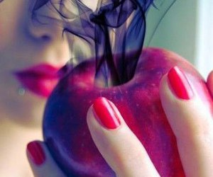 apple, poison, and red image