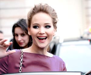 Jennifer Lawrence, smile, and actress image