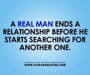 quotes and a real man image