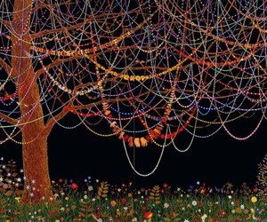 tree, art, and fred tomaselli image