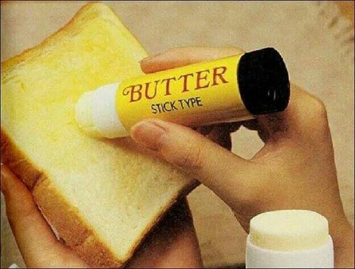 bread, butter, and fun image